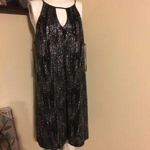 New Black Cocktail Dress XL